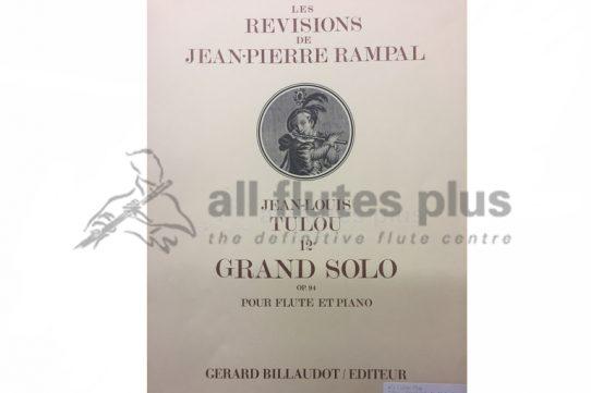 Tulou Grand Solo 12E Op 94-Flute and Piano-Billaudot