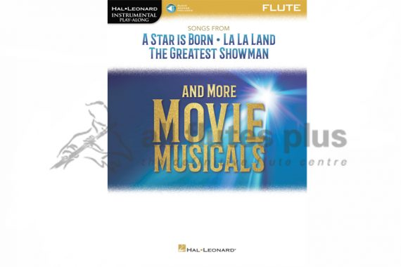 A Star is Born and More Movie Musicals-Flute and Online Audio-Hal Leonard
