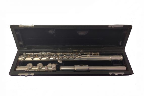 Brannen-Cooper Orchestral Model Secondhand Flute with Sheridan Headjoint-c8766