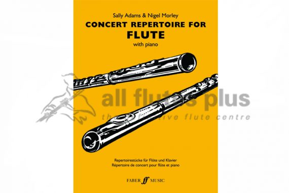 Concert Repertoire for Flute with Piano-Faber Music