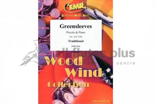 Greensleeves-Piccolo and Piano-Editions Marc Reift