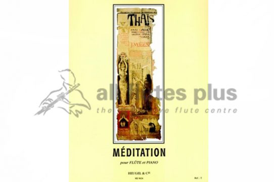 Massenet Meditation from Thais-Flute and Piano-Heugel