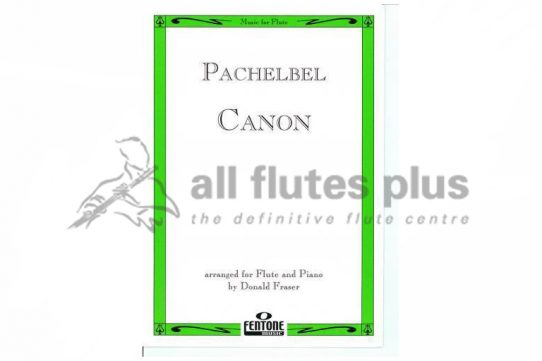 Pachebel Canon-Flute and Piano-Fentone