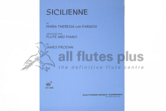 Paradis Siciliene-Flute and Piano-Southern Music