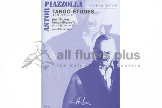 Piazzolla Tango Etudes-Flute and Piano-Lemoine