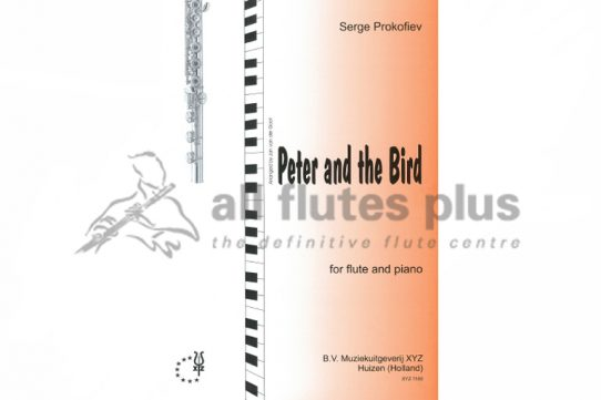 Prokofiev Peter and the Bird-Flute and Piano-XYZ