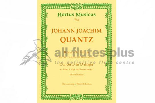 Quantz Concerto in D Major-Flute and Piano-Hortus Musicus