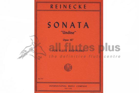 Reinecke Undine Sonata Opus 167-Flute and Piano-IMC