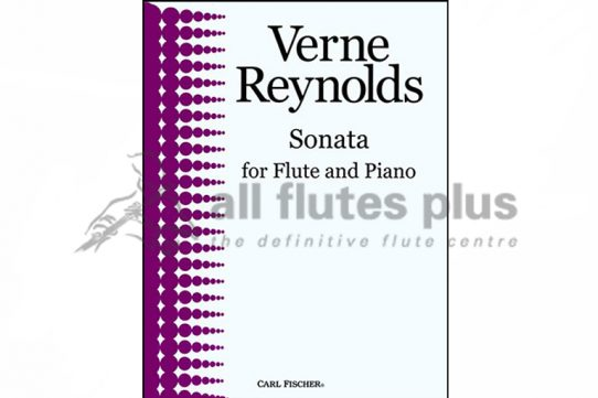 Reynolds Sonata-Flute and Piano-Carl Fischer