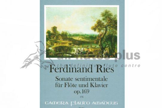 Ries Sonata Sentimentale Op 169-Flute and Piano-Amadeus