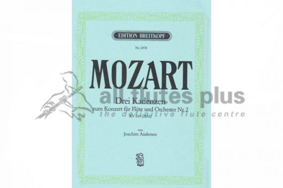 Three Cadenzas for Mozart Concerto No 2 KV314 by Andersen-Breitkopf