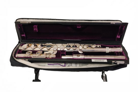Trevor James Performers Alto Secondhand Flute with Straight Headjoint-c8759