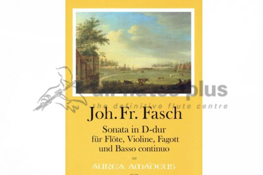 Fasch Sonata in D Major-Flute, Violin, Bassoon and Basso Continuo-Amadeus