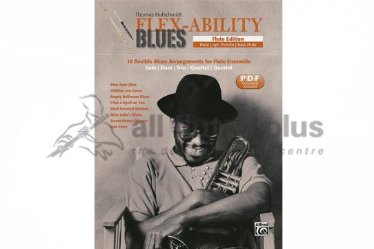 Flex-Ability Blues Flute Edition-Alfred