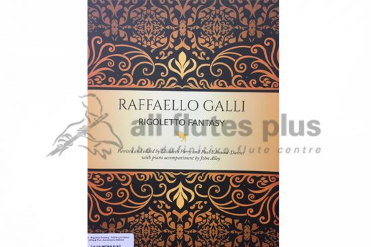 Galli Rigoletto Fantasy-Two Flutes and Piano-Edited by Parry and Edmund-Davies-AureaCapra Editions