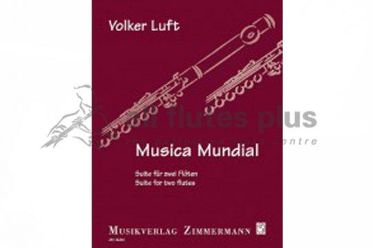 Luft Musica Mundial Suite-2 Flutes-Zimmermann