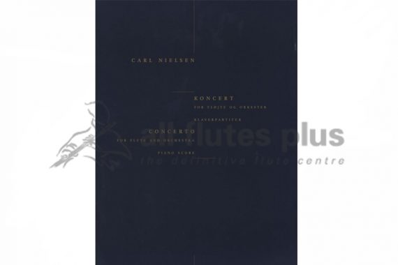 Nielsen Concerto-Flute and Piano-Edition Wilhelm HansenNielsen Concerto-Flute and Piano-Edition Wilhelm Hansen