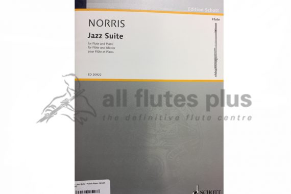 Norris Jazz Suite-Flute and Piano-Schott