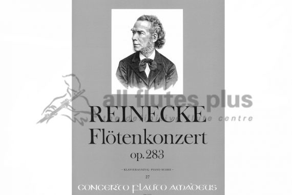 Reinecke Concerto Opus 283-Flute and Piano-AmadeusReinecke Concerto Opus 283-Flute and Piano-Amadeus