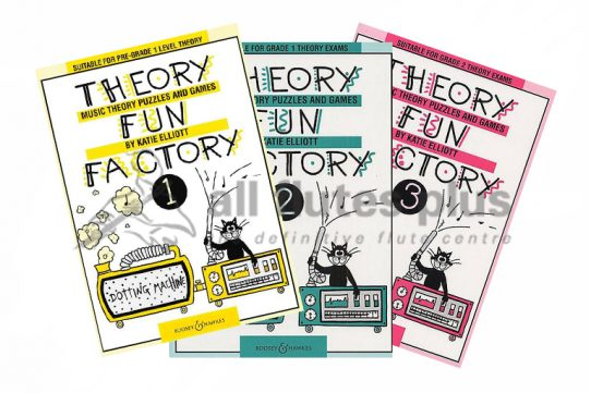 Theory Fun Factory Series-Boosey and Hawkes