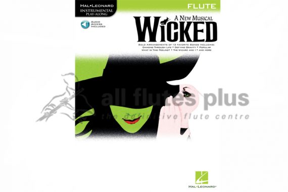 Wicked Flute-Flute Book and Online Audio-Hal Leonard