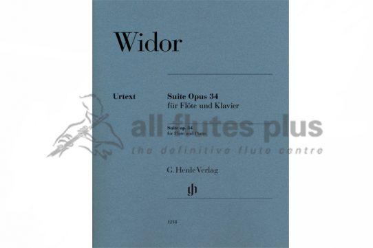 Widor Suite Op 34-Flute and Piano-Henle Verlag Widor Suite Op 34-Flute and Piano-Henle Verlag
