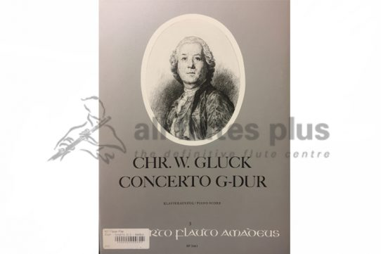 Gluck Concerto in G Major-Flute and Piano-Amadeus