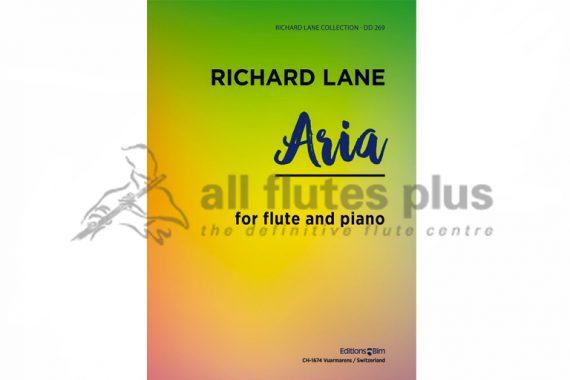 Lane Aria-Flute and Piano-Editions Bim