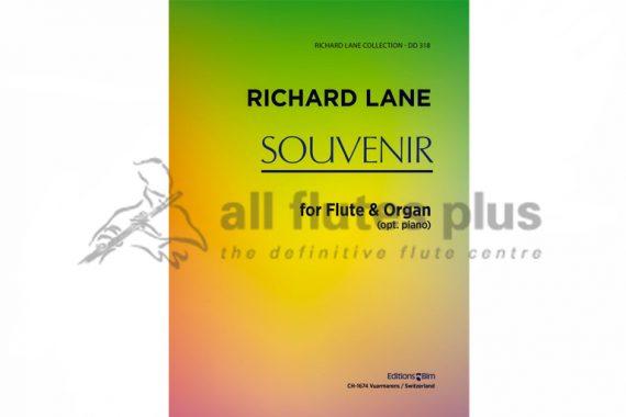 Lane Souvenir-Flute and Organ or Piano-Editions Bim