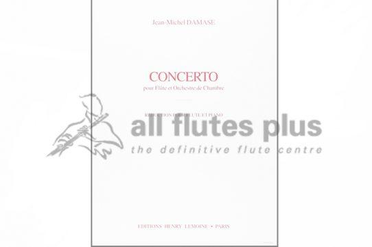 Damase Concerto-Flute and Piano-Lemoine