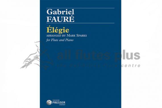 Faure Elegie-Flute and Piano-Theodore Presser