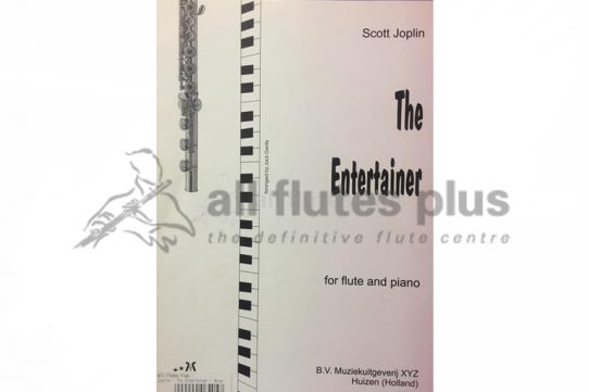 Joplin The Entertainer-Flute and piano-BVMXYZ