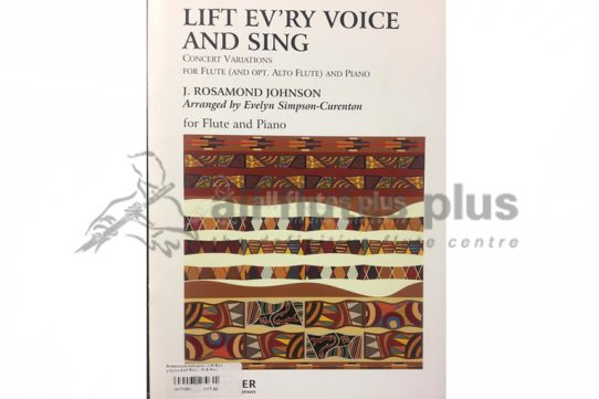 Lift Every Voice and Sing Concert Variations-Flute (with optional Alto Flute) and Piano-Theodore Presser