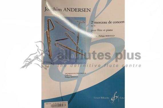 Andersen 2nd Morceau de Concert Op 61-Flute and Piano-Billuadot