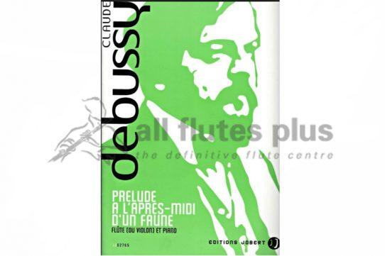 Debussy Prelude L'Apres-Midi D'un Faune-Flute and Piano-Editions Jobert