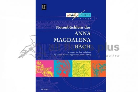 Notebook for Anna Magdalena Bach-Flute and Piano-Universal Edition