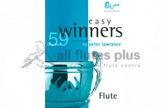 Easy Winners by Peter Lawrance-Flute Unaccompanied-Brass Wind Publications