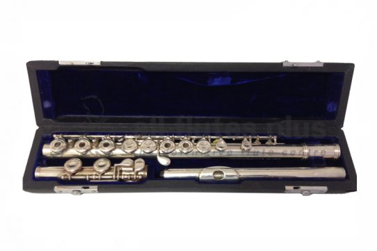 Emerson Thin Wall Silver Body Used Flute with Buffet Headjoint and Inline G-c8233