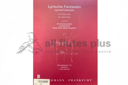 Lyrical Fantasies for Solo Flute-Abel/Grun and Kohler-Zimmermann