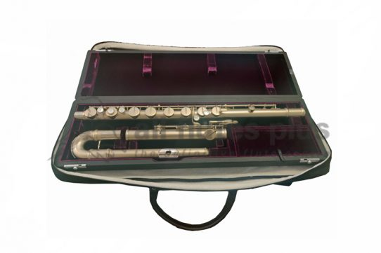 Trevor James Secondhand Bass Flute-c8245