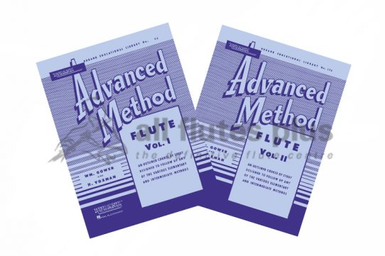 Advanced Method Flute-Gower and Voxman-Rubank Publications