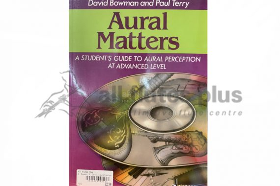 Aural Matters A Student's Guide to Aural Perception at Advanced Level with 2 CDs-Schott