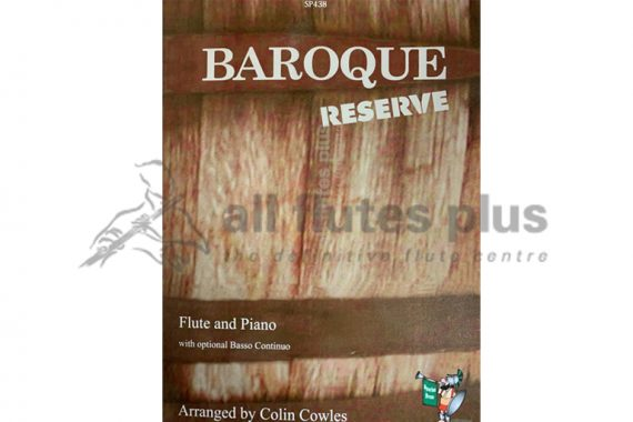 Baroque Reserve-Flute and Piano with optional Basso Continuo-Spartan Press