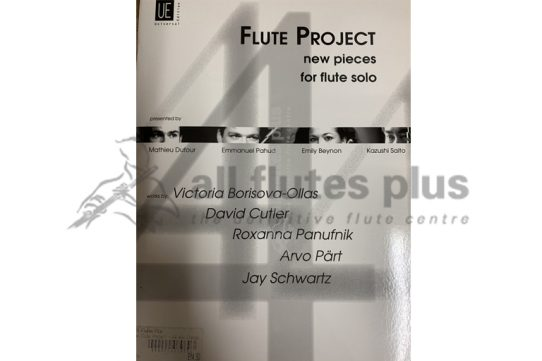 Flute Project new pieces for flute solo-Universal Edition