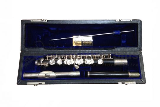 Gemeinhardt Secondhand All Wood Piccolo plus Silver Headjoint-c8224