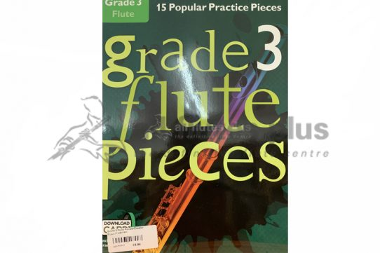 Grade 3 Flute Pieces-Flute and Online Audio Access-Chester Music