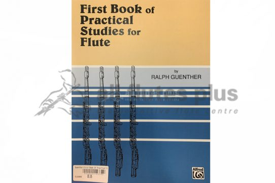 Guenther First Book of Practical Studies for Flute Book 1-Alfred Music