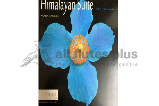 Himalayan by Mark Tanner-Flute and Piano-Spartan Press