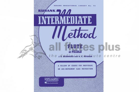Intermediate Method Flute or Piccolo-Skornicka and Petersen-Rubank Publications