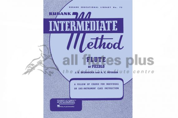 Intermediate Method Flute or Piccolo-Skornicka and Petersen-Rubank Publications